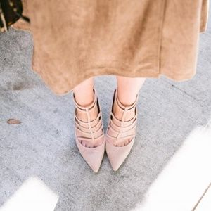 Ivanka Trump 'Domin' strappy heels